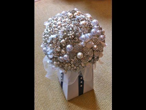 #1 Best How To DIY Brooch Bouquet Tutorial Part 1