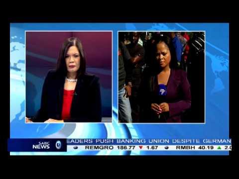 Chriselda Lewis decribes the scene today at Pretoria Hospital