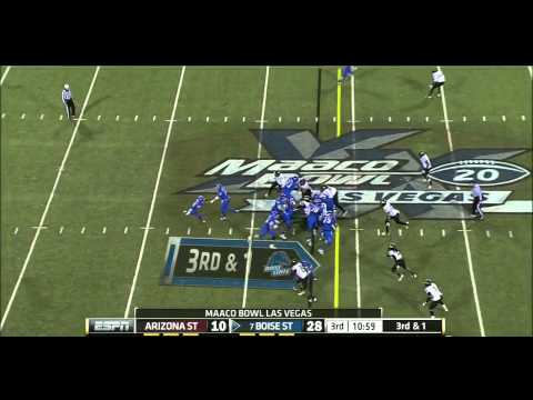 Doug Martin vs Arizona St. 2011 (Las Vegas Bowl) video.