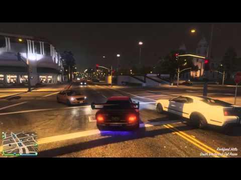 Grand Theft Auto V-Flashing lights