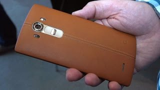 LG G4 Ups The Ante With An Improved Curved Screen, Better Camera, Optional Leather