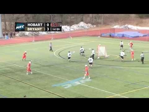 Men's Lacrosse vs. Hobart Highlights