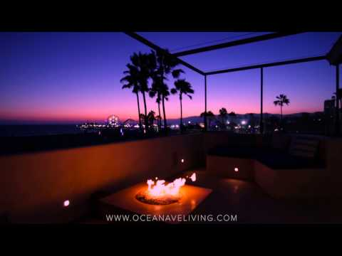1719 Ocean Front Santa Monica Blu Luxury Townhomes Video