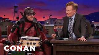 """Video Adam Pally's Interview As """"Snaredevil"""" Goes Completely Off The Rails  - CONAN on TBS MP3, 3GP, MP4, WEBM, AVI, FLV Juli 2018"""