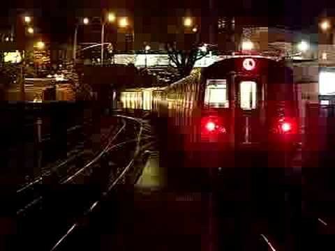 MustangFan424 - This is a video I took of a MTA NYCT R143 (L) Train Departing Broadway Junction.