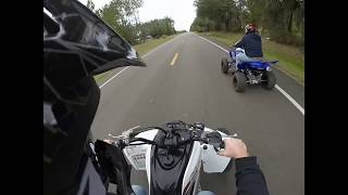 9. 2018 Yamaha Raptor 700R first ride!