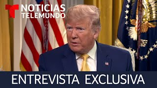 Video Trump rompe el silencio. Noticias Telemundo entrevista en exclusiva al presidente de Estados Unidos MP3, 3GP, MP4, WEBM, AVI, FLV Juni 2019