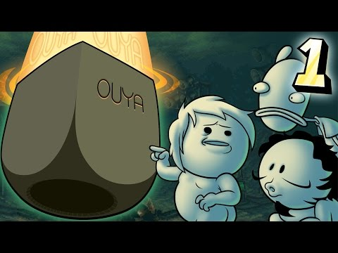 Oney Plays Ouya WITH FRIENDS - EP 1 - Video Games!