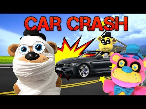 FNAF Plush - Freddy's Car Crash!!
