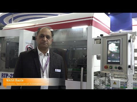 B&R Interviews Director Mr. Nikhil Baste featuring new Robotic Tube Packer, RTP-250 in PlastIndia 2018