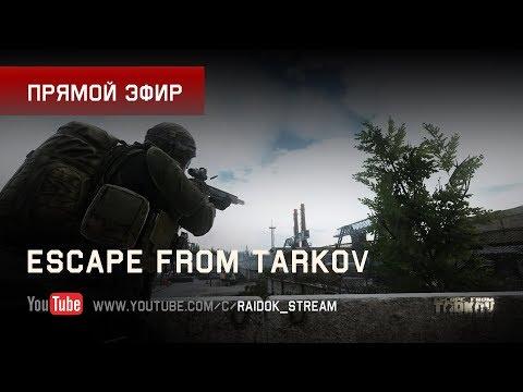 Escape From Tarkov - Рейды с Димой. Stream by Raidok #140. (видео)