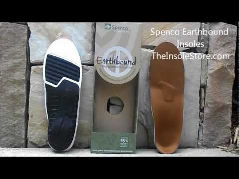 Spenco Earthbound Insoles Review @ TheInsoleStore.com