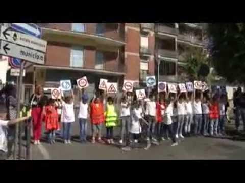 Giugliano. Flash Mob al  Primo Circolo Didattico