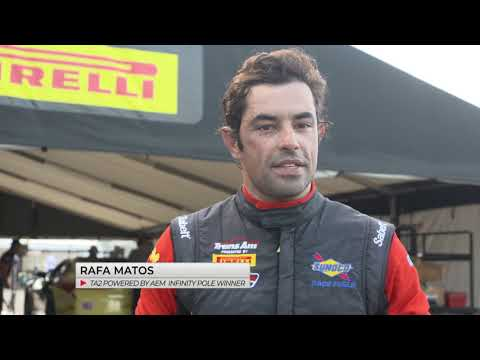 Rafa Matos on Pole for TA2 Mid-Ohio Race