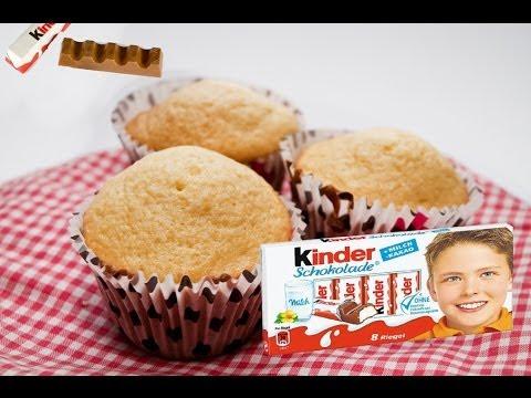 Muffin al cioccolato Kinder - La ricetta