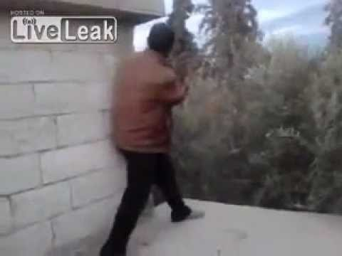 Killed - Rebel gets killed trying to shoot a SAA sniper.