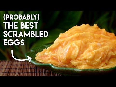 Cantonese style Scrambled Eggs (黄埔炒蛋)