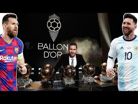 Lionel Messi Wins The 2019 Ballon D'or Award
