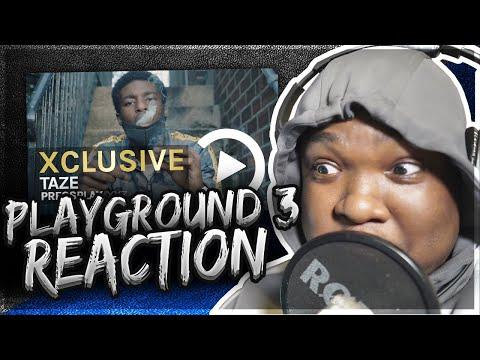 Taze - Playground 3 (Music Video) Prod By Yamaica | Pressplay (REACTION)