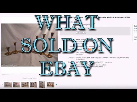 Highlights of What we have sold on ebay during the last month - Dorky Thrifters видео