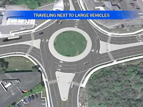 roundabout - State of Michigan is installing rounadabouts to improve safety and reduce congestion in certain intersections. This video demonstrates the proper use of a ro...