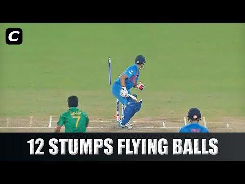 12 Stumps Flying Crazy Deliveries In Cricket