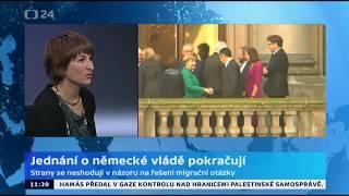 Jednání o německé vládě pokračují
