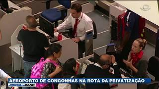 O governo federal espera arrecadar mais de R$ 5,5 bilhões com a concessão do Aeroporto de Congonhas, em São Paulo.