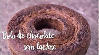 Experimente - Bolo de chocolate sem lactose