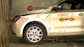 Crash Test delantero Seat Toledo en CESVIMAP