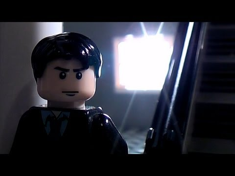 Video: The Dark Knight Rises Trailer in Lego