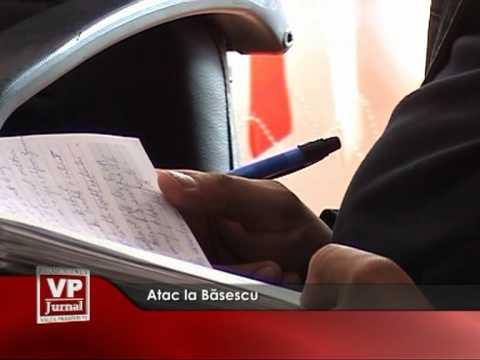 Atac la Băsescu