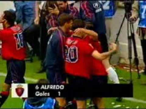Goles del Osasuna (1999 - 2000)