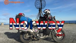 Eo 18 - Norway  (part 1) - Motorcycle Trip around Europe