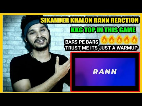 Sikander Kahlon RANN REACTION (Sunny Milton Diss) - SIKANDER KAHLON REACTION
