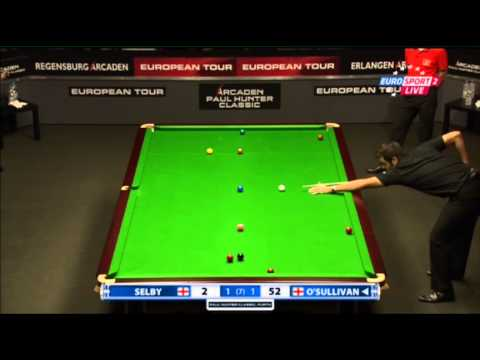 Ronnie O'Sullivan - Mark Selby (Full Match) Snooker Paul Hunter Classic 2013 - Semi Final
