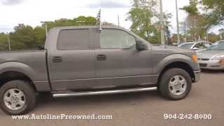 Autoline Preowned 2009 Ford F-150 XLT For Sale Used Walk Around Review Test Drive Jacksonville