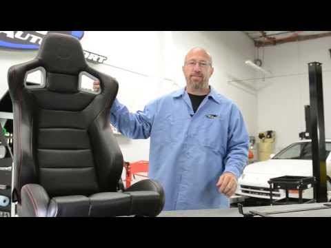 seats - http://www.andysautosport.com/seats.html 1 (800) 419-1152 This episode of Andy's Auto Sport TV will show you the basic steps of installing a set of aftermark...