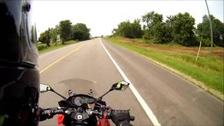 8. 2011 Kawasaki Ninja 1000 Test Ride