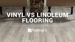 Vinyl vs Linoleum Flooring