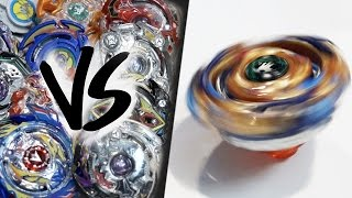 HAND-SPINNING Drain Fafnir (Spin Stealing) VS ALL BEYBLADE BURST! - EPIC Beyblade Burst Marathon! Video