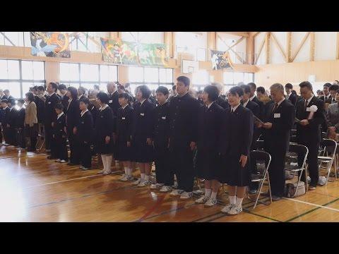 母校忘れない、柳谷中閉校式・愛媛新聞