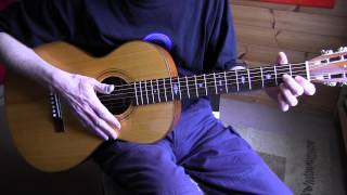 Fingerpicking Lesson - Bean Rag - Free TAB