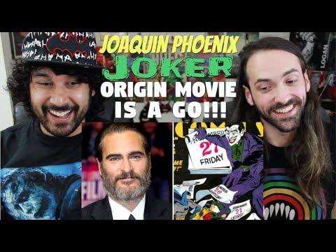 Joaquin Phoenix's JOKER ORIGIN MOVIE Officially HAPPENING!!!