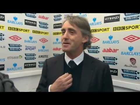 0 Damien Johnson thinks that Mancini is Mario Balotelli