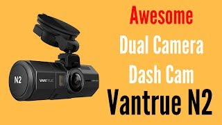 VANtrue N2 Dual Camera Front and Rear Dash Cam ReviewAwesome DealUsual Price £149.99Use Discount Code: MMEN4W66Get it for £94.99 UKhttp://amzn.to/2tZh295UShttp://amzn.to/2swKIWJIf you want cheaper insurance and feel more safe and secure when driving on the roads then the VANtrue N2 Dual Camera Dash Cam is a must have bit of kit. The quality of the video is awesome and the beauty of this dash cam is that it has two cameras. This means it gives you that added security inside the car as it records all activity inside the car while driving and parked.This dash cam can also record the car number plate, driving speed, location by using GPS and much more. This is essential while driving on the road today and this is video evidence if you have a crash, attacked while in the car, vandalism to your car because this dash cam can start to record even when parked when people or cars approach the car within 33FT. What's the features of Vantrue N2 dash cam?2 LensesThe N2 is equipped with two cams and both have top class F/2.0 6 glasses lens: front camera has a 170-degree wide-angle lens and back camera has a 140-degree wide-angle lens. The back camera is 80 deg. up & down rotatable, easy to adjust to the best view point.Dual HD RecordingFront camera features 1080P Full HD video recording, while the back camera is 720P HD, plus the HDR presents more details from shadows to highlights, recording your journey of day and night in excellent quality. You could also choose only front camera recording mode.Loop RecordAuto turns on and record while car engine starts. Seamless loop recording enables it to overwrite the oldest footage with the newest upon filling a card to capacity. Support up to 32GB microSD card.Event ProtectG-Sensor data protection automatically senses a crash and saves the video files so they are not overwritten or corrupted. Also supports manually locking videos by pressing the emergency button. All G-Sensor data will be saved in Event folder for convenient review.2 Par