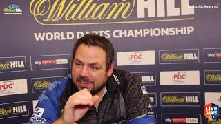 "Adrian Lewis on win over Darren Webster: ""I've been through the ringer but I'm still here fighting"""