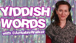 Learn Yiddish Words with Amy Walker