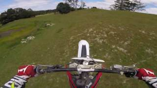 10. HUSKY cr144 and HONDA cr125 ENDURO and MASSIVE JUMPS