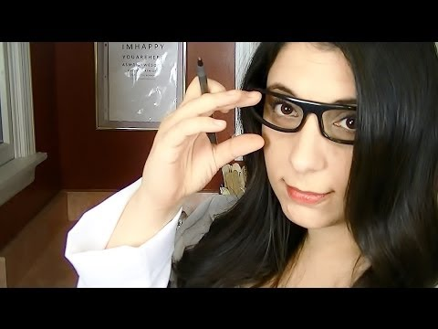 ASMR Ear, Nose and Throat Examination (ENT) Role Play: A Binaural Medical Exam For Relaxation